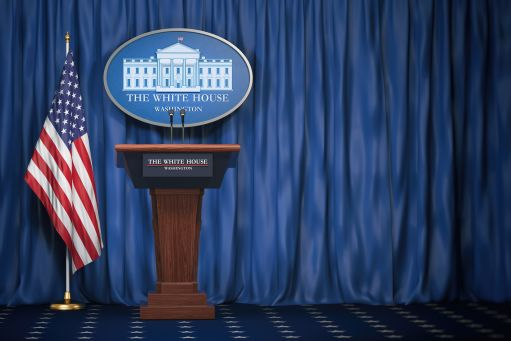 White House lectern
