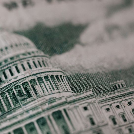The Capitol Building on the back of a $50 bill