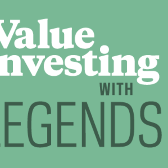 Logo for the Value Investing with Legends podcast
