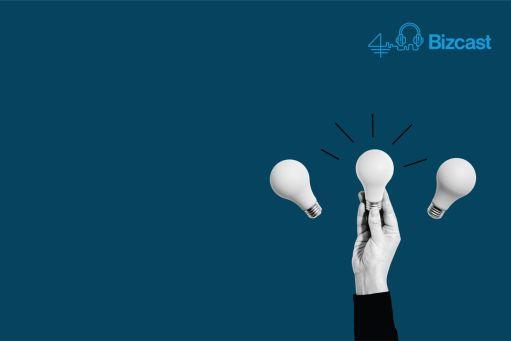 hand reaching for 3 lightbulbs