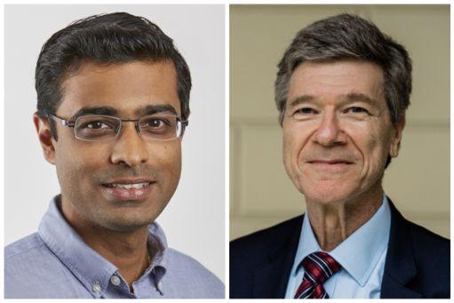 Professor Amit Khandelwal and Professor Jeffrey Sachs
