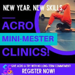 Acro Mini Mester Clinics!