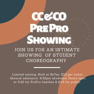 Pre Pro Showing