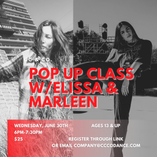 Pop Up Class with Elissa & Marleen