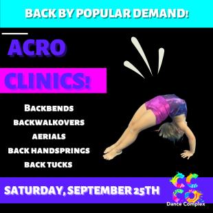 Acro Clinics!
