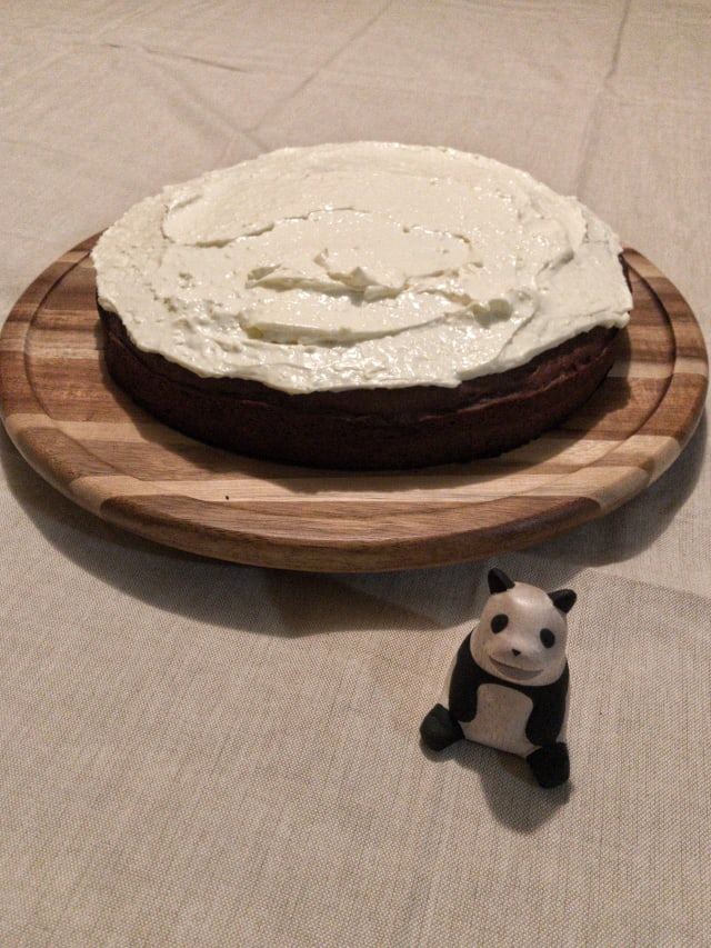 photo of my applesauce cake