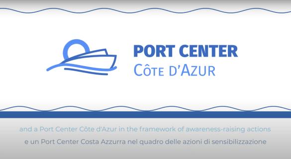 What is the Port Center Côte d´Azur?