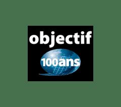 Logo - Objectif 100 ans