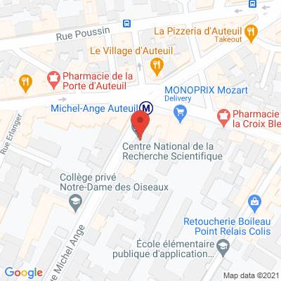 Map - CNRS DELEGATION REGIONALE CÔTE D'AZUR