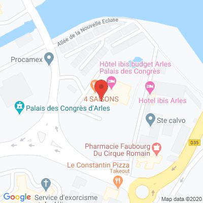 Map - CCI Pays d'Arles