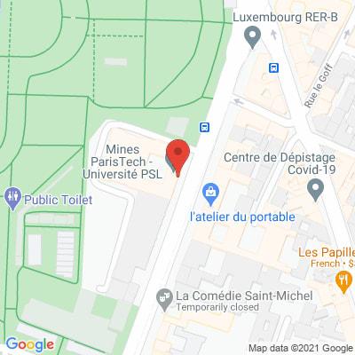 Map - Mines-Paristech
