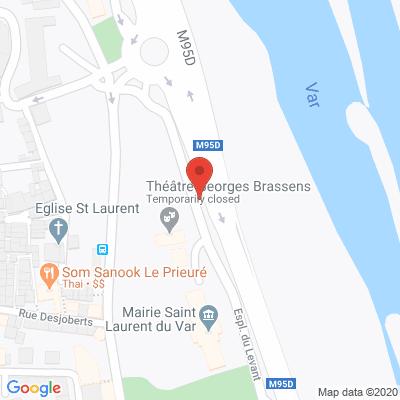 Map - mairie de saint laurent du var