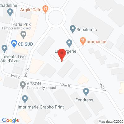 Map - AZUR FRAGRANCES