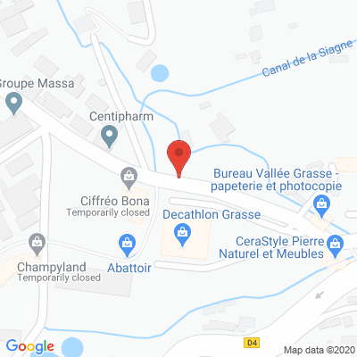 Map - CENTIPHARM