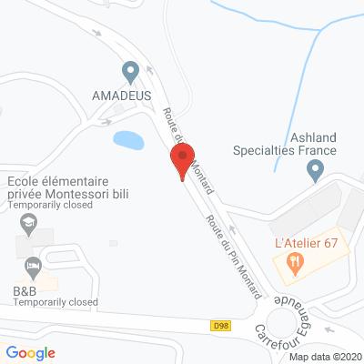 Map - AMADEUS SAS