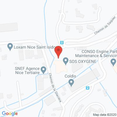 Map - SOS OXYGENE