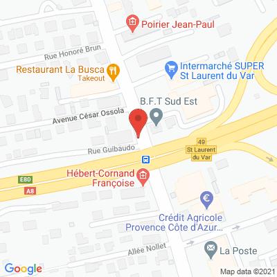 Map - SUD EST FERMETURE