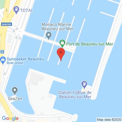 Map - MONACO MARINE