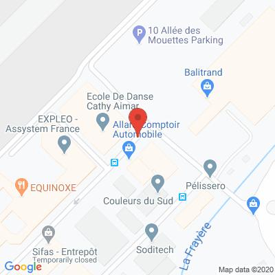 Map - Assystem France