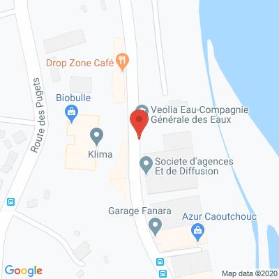 Map - VITRAGE COTE D AZUR