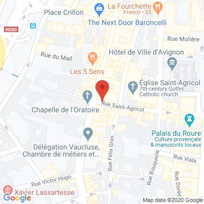 Map - Emploi Vaucluse