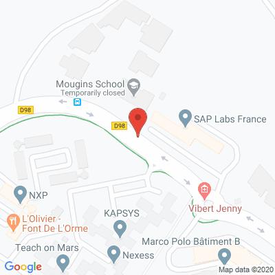 Map - SAP LABS FRANCE