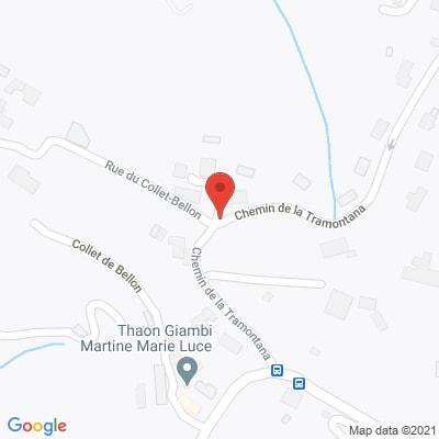 Map - Alpes Azur Services