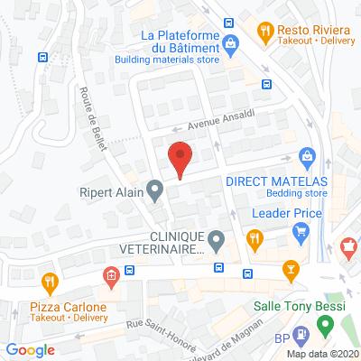 Map - CUST'Home