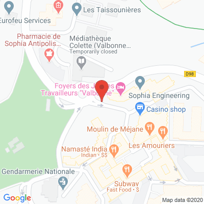 Map - SOPHIA CONSEIL