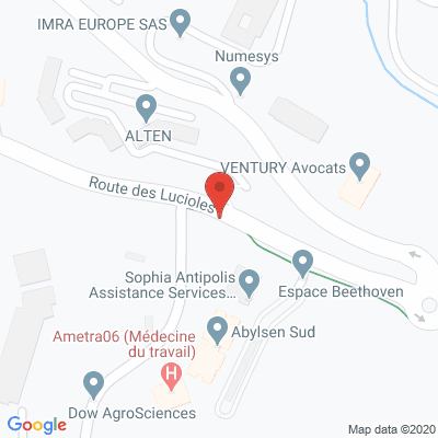 Map - ABYLSEN SUD