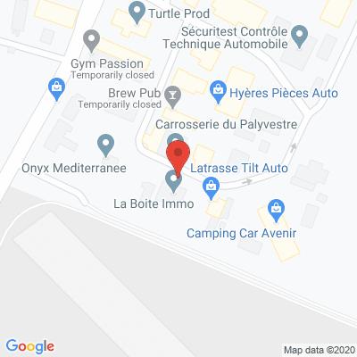 Map - La boîte Immo