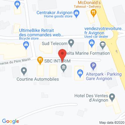 Map - SBC AVIGNON