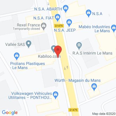Map - Hemmersbach France