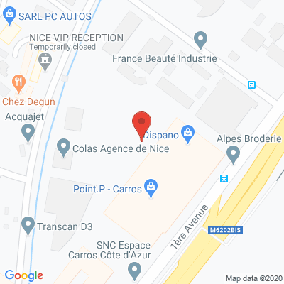 Map - LITTORAL CUISINES INDUSTRIELLES - LCI