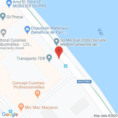 Map - ELIS COTE D'AZUR