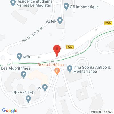 Map - Travelaer SAS