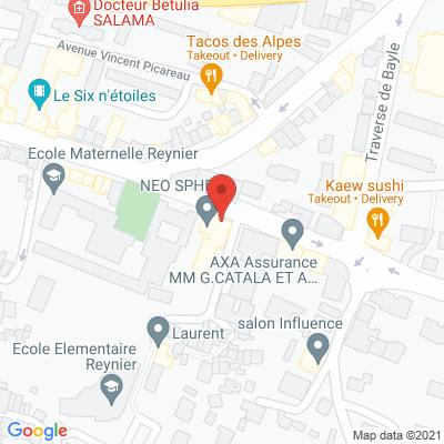 Map - NEO SPHERE