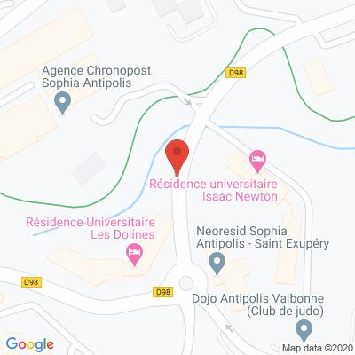 Map - SOPHIA RECRUTEMENT