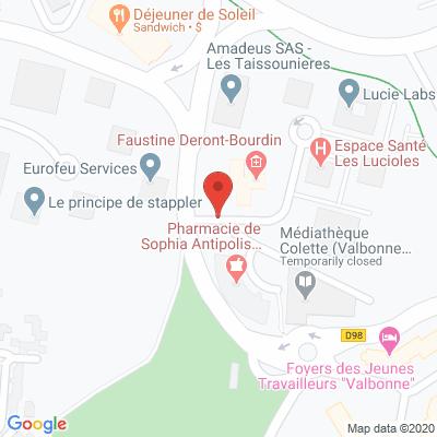 Map - Weibis S.A.S
