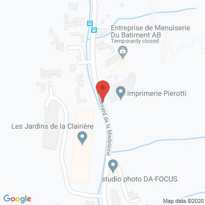 Map - Imprimerie PIEROTTI