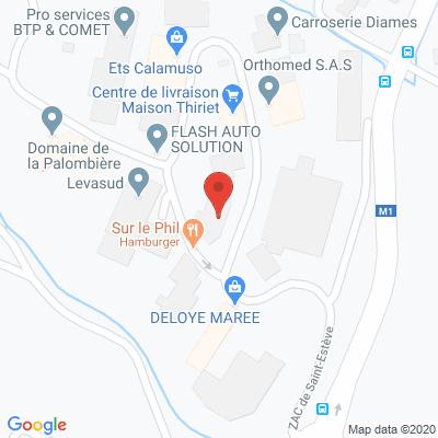 Map - DECOL'MATIC