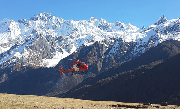 Nagarkot and Mountain Flight