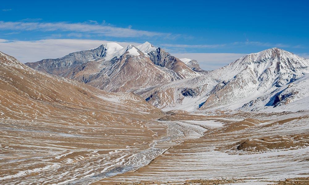 Dhaulagiri ranges from Hidden Valley