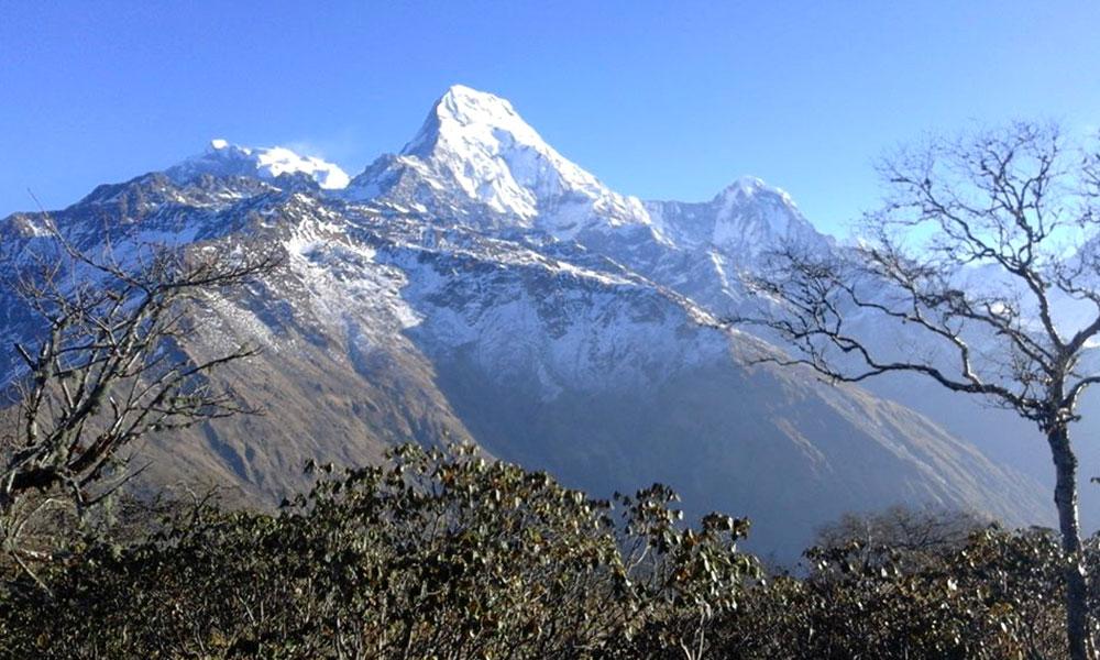 View of Annapurna south