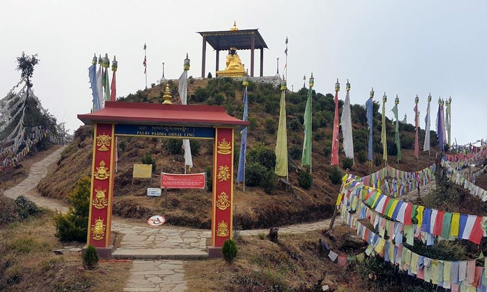 Monastery along the trail of Helambu Cultural Trek