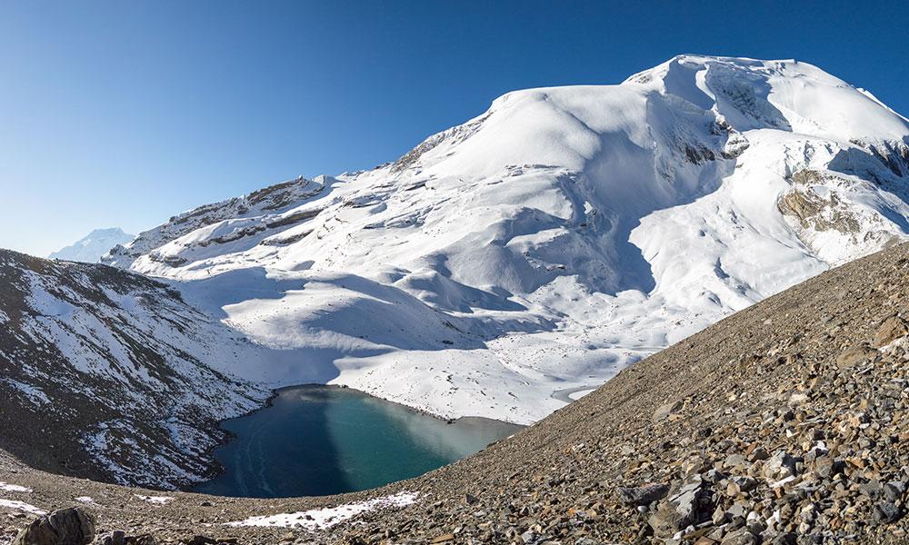 Ice Lake on Thorong La