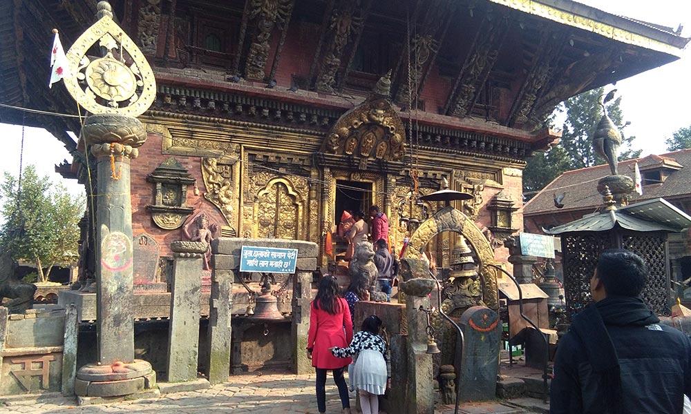 Changunarayan Temple - an ancient temple in Nepal