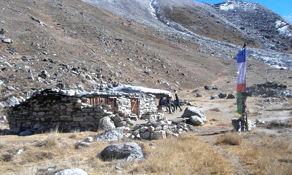 Pangpema, Kanchenjunga North Base Camp