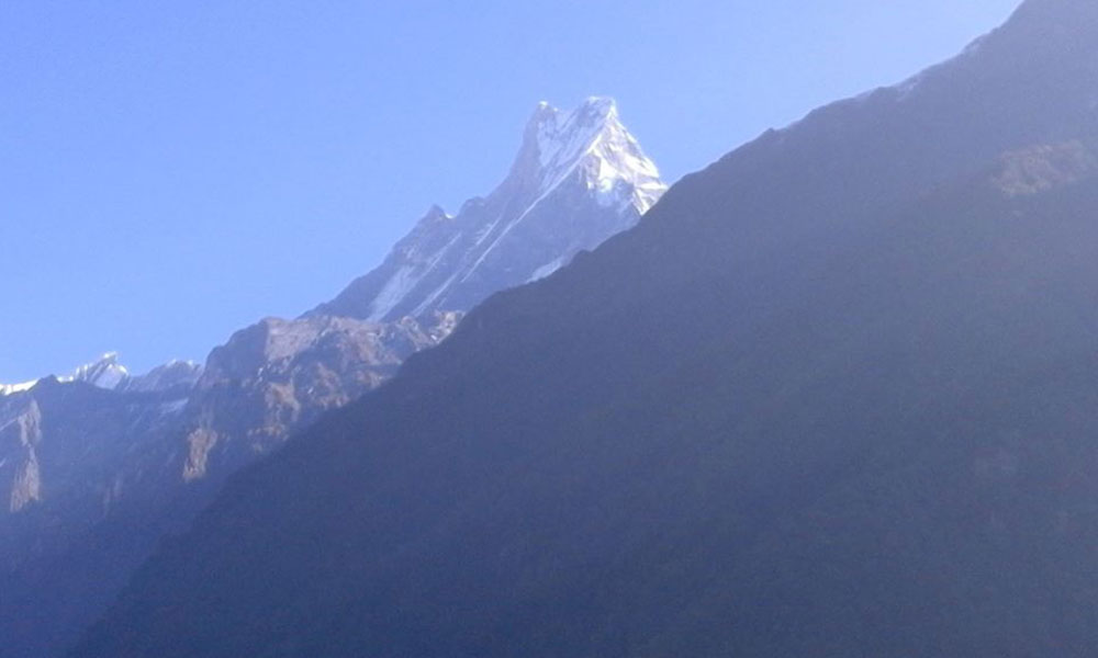 View of Fishtail