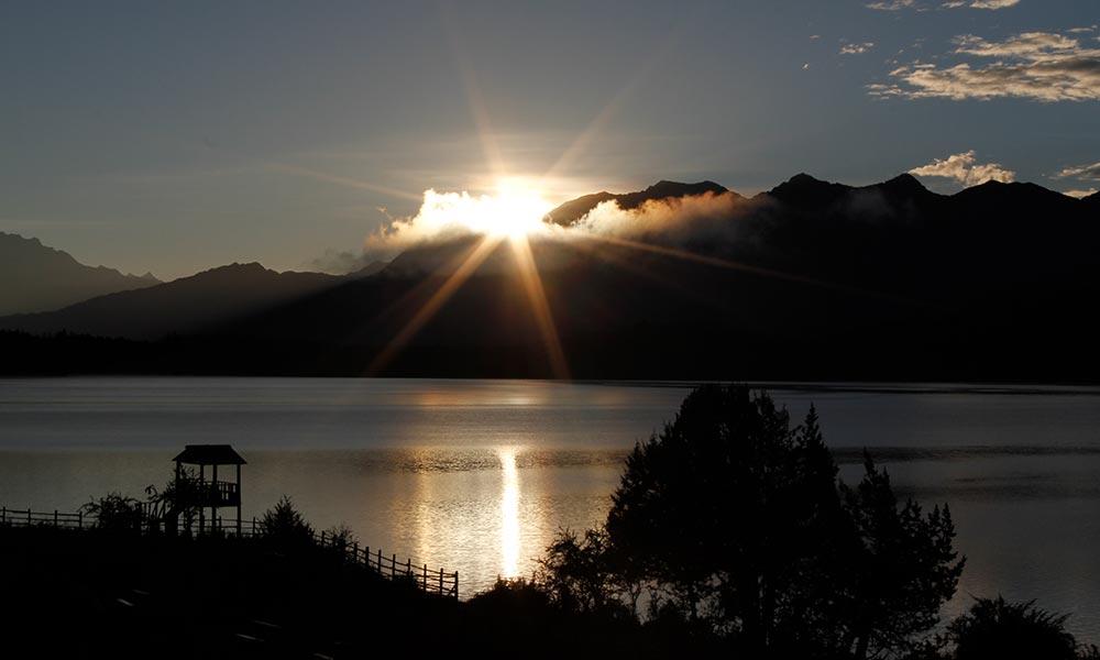 Sunrise view from Rara Lake